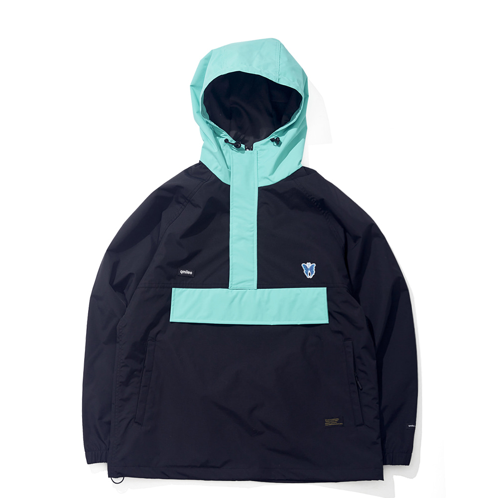 25B MS ULYSSES ANORAK BLACK