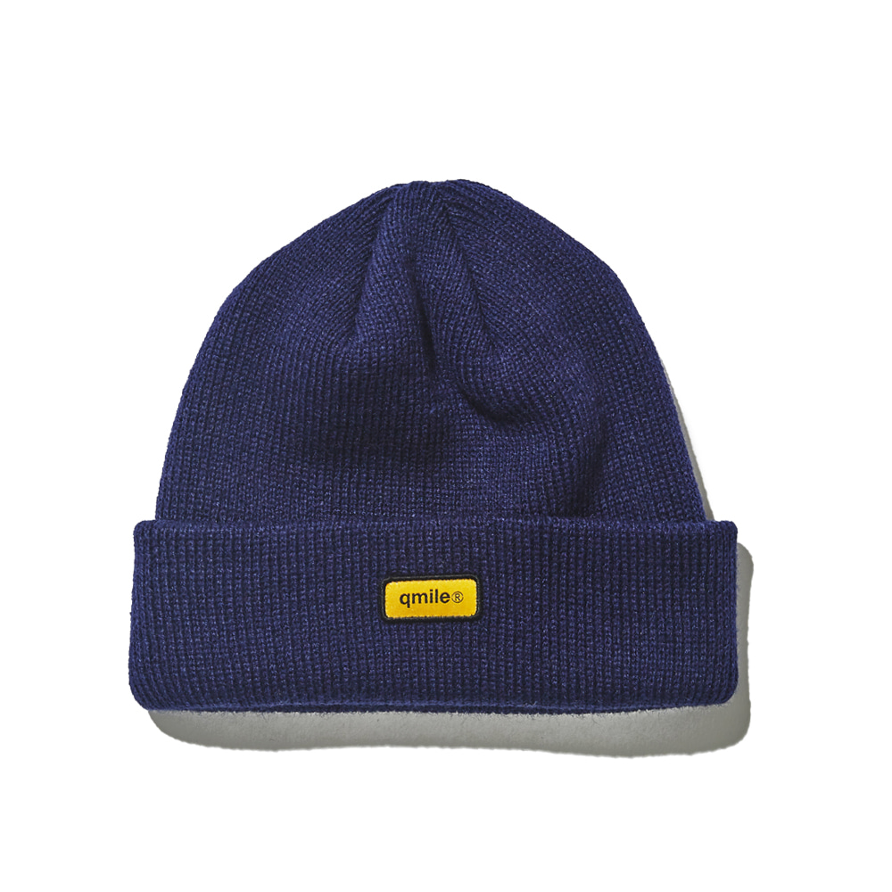 731 ORANGE SW BEANIE 	NAVY
