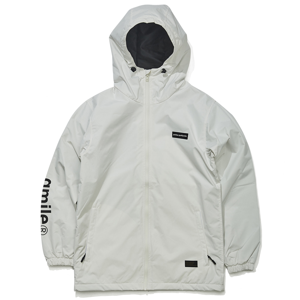 282 TRAINING HOODIED 	WHITE