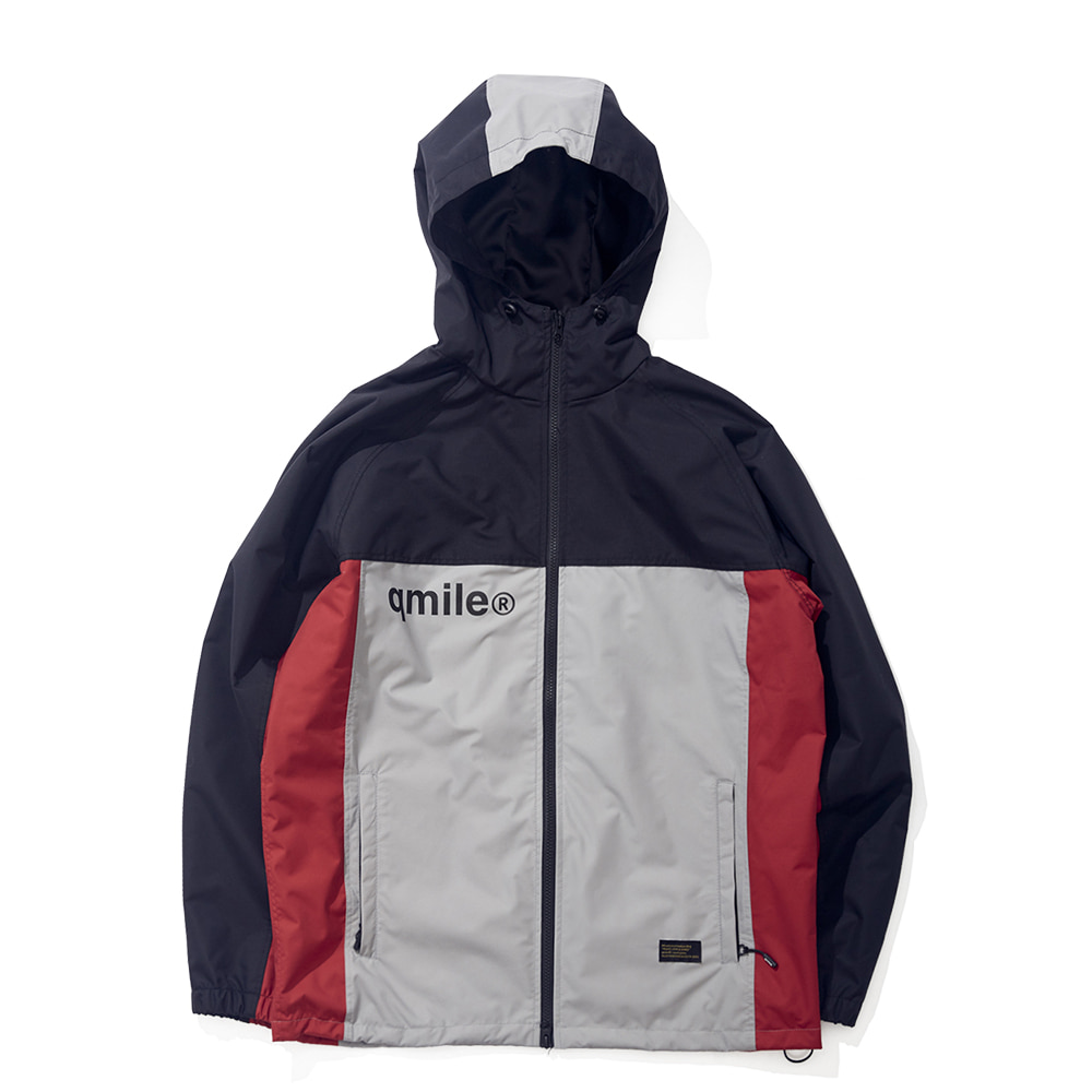 22B TRACK HOODED JACKET BLACK