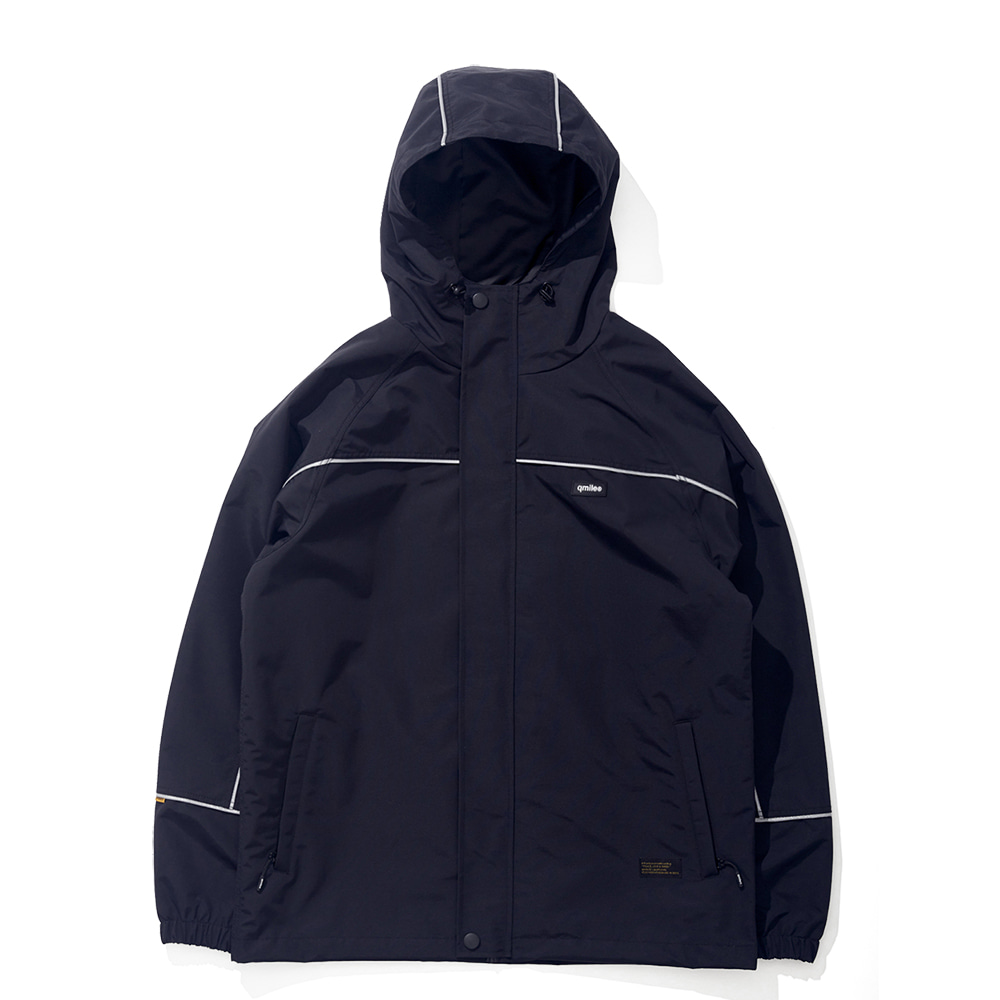 21B REFLECTIVE LINE JACKET BLACK