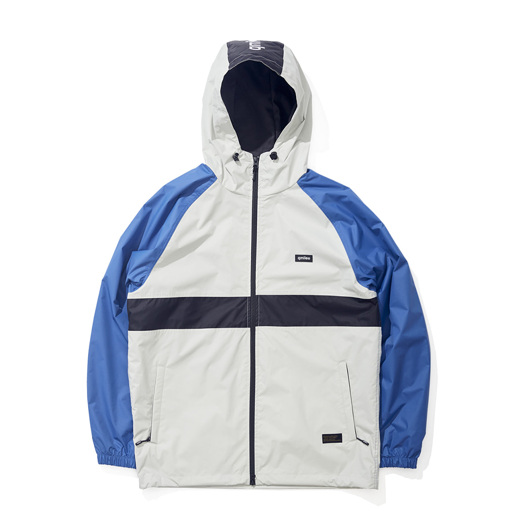 24B TRAING HOODED JACKET BLUE